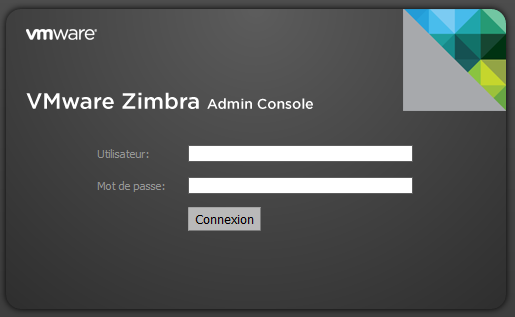 Connection à Zimbra