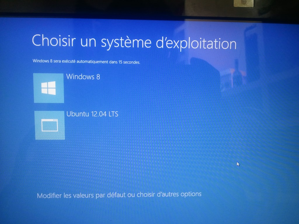 Bootloader de Windows 8